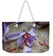 Saffron Flower Weekender Tote Bag