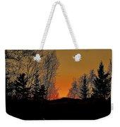 Saffron Sunset Weekender Tote Bag
