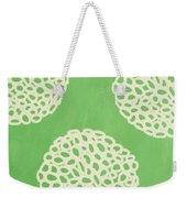 Sage Garden Bloom Weekender Tote Bag by Linda Woods