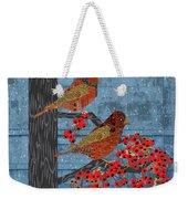 Sagebrush Sparrow Long Weekender Tote Bag