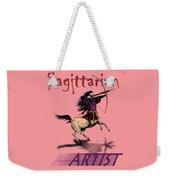 Sagittarian Artist Weekender Tote Bag
