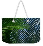 Sago Palm Fronds Weekender Tote Bag