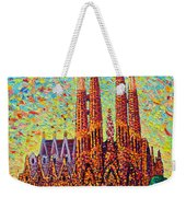 Sagrada Familia Barcelona Spain Weekender Tote Bag
