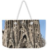Sagrada Familia - Gaudi Designed - Barcelona Spain Weekender Tote Bag