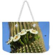 Saguaro Cactus Flower 8 Weekender Tote Bag