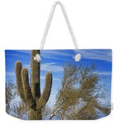 Saguaro Cactus Of The Desert Southwest Weekender Tote Bag