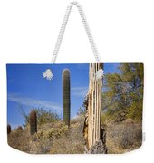 Saguaro Cactus Skeleton Weekender Tote Bag