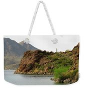 Saguaro Lake Shore Weekender Tote Bag