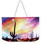 Saguaro National Monument Weekender Tote Bag