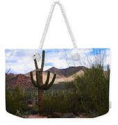 Saguaro National Park Weekender Tote Bag