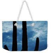 Saguaro Nights Weekender Tote Bag