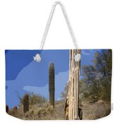 Saguaro Skeleton Weekender Tote Bag