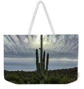 Saguaro Sun Break Clouds Weekender Tote Bag
