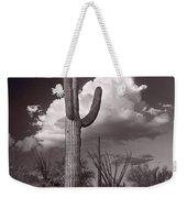 Saguaro Sunset Arizona Bw Weekender Tote Bag