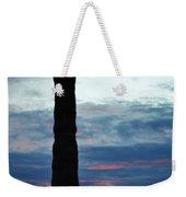 Saguaro Sunset Portrait Weekender Tote Bag