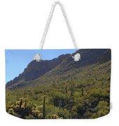 Saguaros And Other Greenery  Weekender Tote Bag