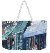 Sahadis Atlantic Avenue Brooklyn Weekender Tote Bag