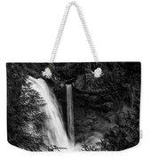 Sahalie Falls No. 4 Bw Weekender Tote Bag
