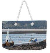 Sail Boat Weekender Tote Bag
