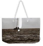 Sail Boat Coming Ashore 2 Weekender Tote Bag