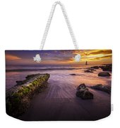 Sail Into The Sunset Weekender Tote Bag