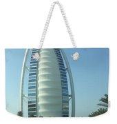 Sail-shaped Silhouette Of Burj Al Arab Jumeirah  Weekender Tote Bag