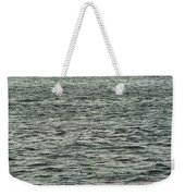 Sailboat And Waves, Piscataqua River, Maine 2004 Weekender Tote Bag
