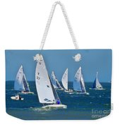 Sailboat Championship Racing 2 Weekender Tote Bag
