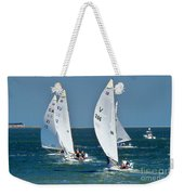 Sailboat Championship Racing 5 Weekender Tote Bag