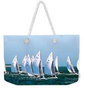 Sailboat Championship Regatta Weekender Tote Bag
