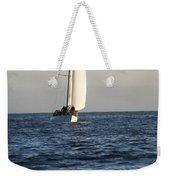 Sailboat Coming Ashore 1 Weekender Tote Bag