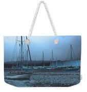 Sailboat Harbor Weekender Tote Bag
