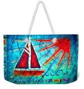 Sailboat In The Sun Weekender Tote Bag
