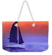 Sailboat Large 2015 Weekender Tote Bag