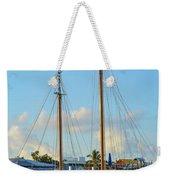 Sailboat, Mast, And Sails Weekender Tote Bag