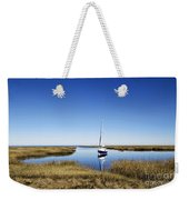 Sailboat On Cape Cod Bay Weekender Tote Bag