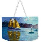 Sailboat-  Sailing- Come Sail Away Weekender Tote Bag