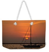 Sailboat Sunrise Chicago Weekender Tote Bag