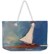 Sailboat Weekender Tote Bag