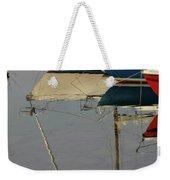 Sailboats And Reflections Weekender Tote Bag