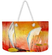 Sailboats Weekender Tote Bag