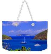 Sailboats In St. John's Weekender Tote Bag