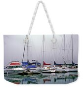 Sailboats In The Fog Weekender Tote Bag