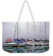 Sailboats In The Fog Weekender Tote Bag