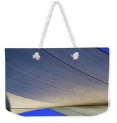 Sailcloth Abstract Times Two Weekender Tote Bag