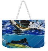 Sailfish In Costa Rica Weekender Tote Bag