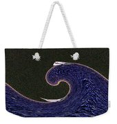 Sailin The Wave Weekender Tote Bag