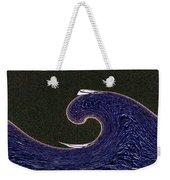 Sailin The Wave Weekender Tote Bag