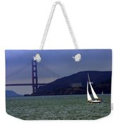 Sailing And The Golden Gate  Weekender Tote Bag