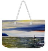 Sailing At Dusk Weekender Tote Bag